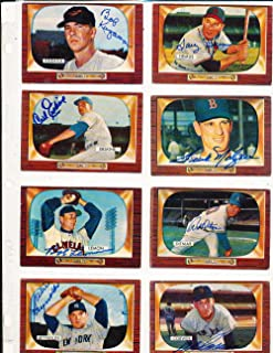 1955 yankees signed baseball