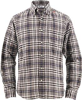 [SWEEP!! LosAngeles スウィープ ロサンゼルス] メンズ チェック柄 コットンツイル ボタンダウンシャツ TWILL CHECK SWSDTWCK-16 WH/BK(ホワイト×ブラック)