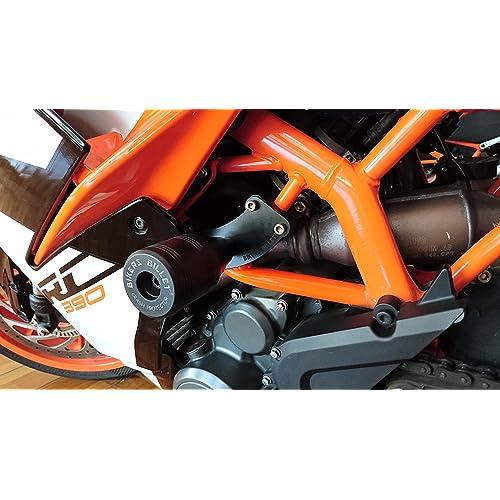 Bikers Billet Frame Protectors (KTM RC 250/390) Black