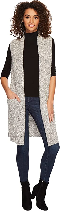 kensie - Cotton Tweed Vest KSDK5671