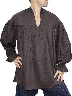 RaanPahMuang Renaissance Courtesans 深领人造丝长袖衫