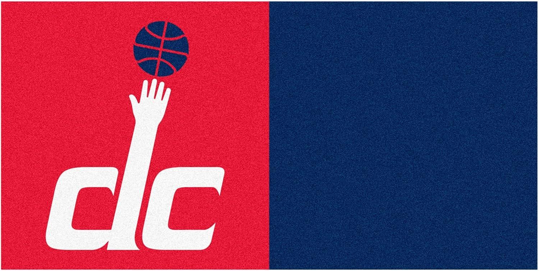 FANMATS NBA Washington Wizards Nylon Face Team Carpet Tiles