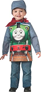 Rubies Thomas and Friends: Deluxe Percy The Small Engine and Engineer Costume, Child Small