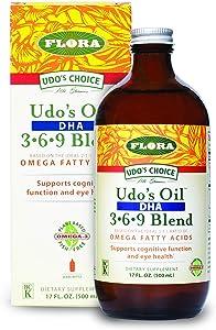 Flora - Udo's Choice, Omega 369 Oil Blend, DHA, 17 Fl Oz
