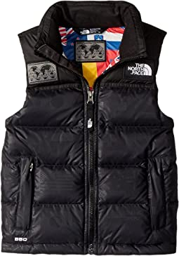 International Collection Nuptse Vest (Little Kids/Big Kids)