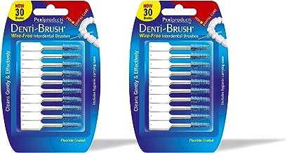 Denti-brush 30 Wire-free Interdental Brushes (Pack of 2)
