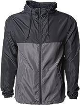 Global Blank Men's Lightweight Windbreaker Winter Jacket Water Resistant Shell