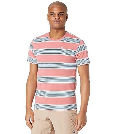 Champion LIFE Yarn-Dye Stripe Short Sleeve T-Shirt