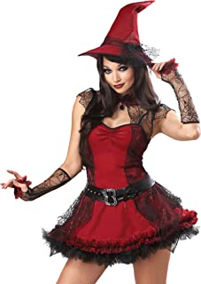 California Costumes Mischievous Witch Adult Costume, As Shown, X-Large