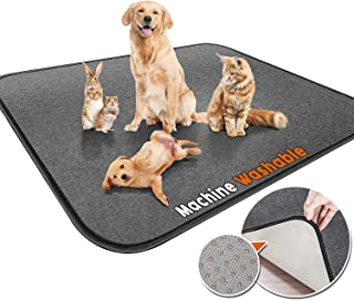 """Gimars Upgrade Heavy Absorbency Non-Slip Washable Pee Pads for Dogs, 72""""x72"""", 65""""x48"""", 36""""x31"""" Reusable Anti-Tear Dog Trai..."""