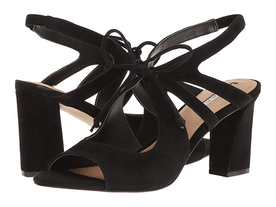 Tahari Night (Black Suede) High Heels