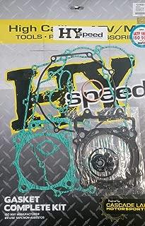 HYspeed Complete Gasket Kit Top & Bottom End Engine Set Kawasaki KFX 450R 08-14