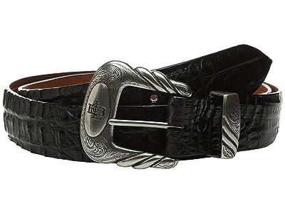 Lucchese W9321 (Black Hornback Caiman) Men