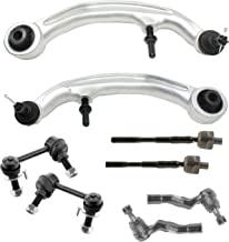 Detroit Axle - Brand New 8pc Complete Front Lower Control Arm Suspension Kit for RWD Only
