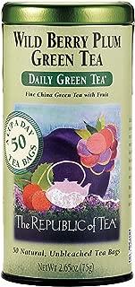 Best republic of tea plum ginger hibiscus tea Reviews