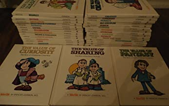 Set of ValueTale Books Value Tales 27 Volumes Believing In Yourself: Louis Pasteur; Determination: Helen Keller; Patience: The Wright Brothers; Kindness: Elizabeth Fry; Humor: Will Rogers; Truth And Trust: Cochise; Caring: Eleanor Roosevelt; Courage: Jack