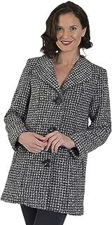 Coat Man Square Collar Single Breasted Jacket
