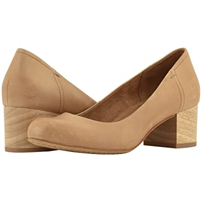 TOMS Beverly (Honey Leather) Women