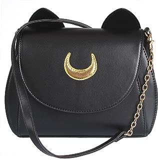 Women Handbag Cosplay Sailor Moon 20th Tsukino Usagi PU Leather Girls Handbag Shoulder Bags