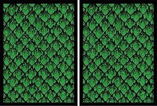 100 Legion Supplies Deck Protector Sleeves Matte Green Dragonhide