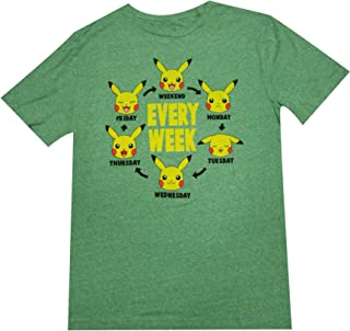 0f6f18457 Amazon.com: pokemon shirts for men