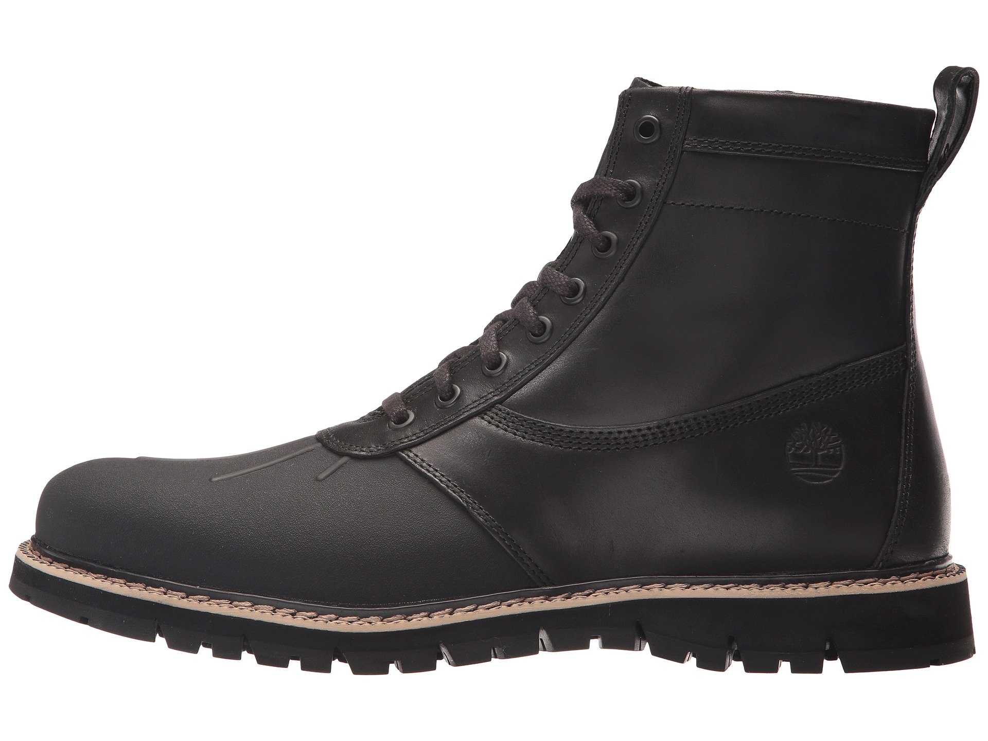 timberland britton hill rubber toe boot at 6pm. Black Bedroom Furniture Sets. Home Design Ideas