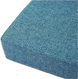 Colchonetas para Bancos Base Cojines para Bancos comodísmo y desenfundable 5cm de Espesor Varios tamaños Azul Marino-Azul Marino 150x40x5cm(59x16x2in)