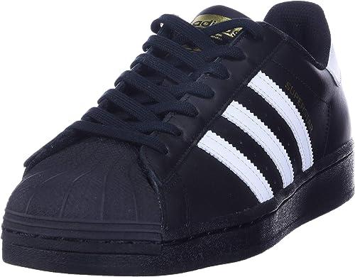 Adidas Originals Superstar Baskets pour homme, Noir (Noir/blanc ...