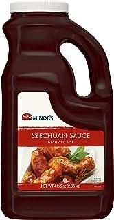 Minor's Szechuan Sauce and Hot Sauce, Made with Oyster Sauce, 4 lb 9 oz Bulk Bottle