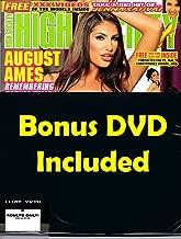 Adult Magazine August Ames High Society #263 2018 Roxy Deville Jenna Sativa with SkinMagz Bonus DVD