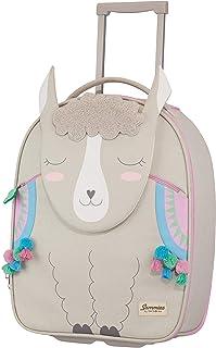 Happy Sammies Upright Maleta Infantil 45 cm, 23 L Gris (Alpaca Aubrie)