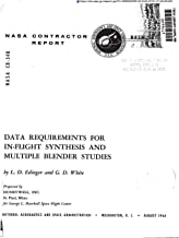 Data requirements for in-flight synthesis and multiple blender studies (English Edition)