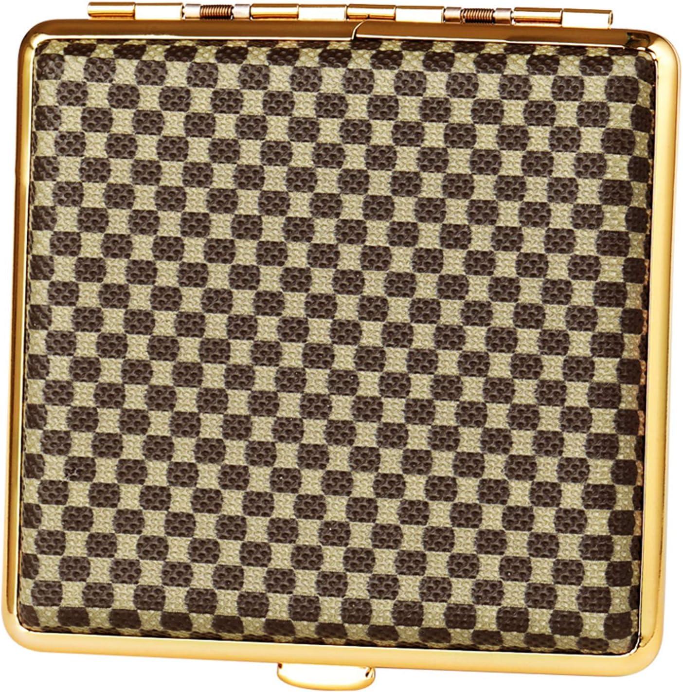 BNMY Superlatite Cigarette Case Super sale period limited Leather C Frame Holder Metal