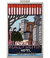 Alice + Olivia - Sophia Matchbox Hotel New York North/South Clutch