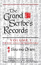 The Grand Scribe's Records, Vol. 1: The Basic Annals of Pre-Han China (Volume I)
