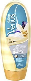 Gillette Venus with Olay Moisturizing Shower & Shave Cream Vanilla Crème, 295mL