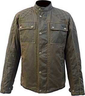 Best classic wax cotton motorcycle jacket Reviews