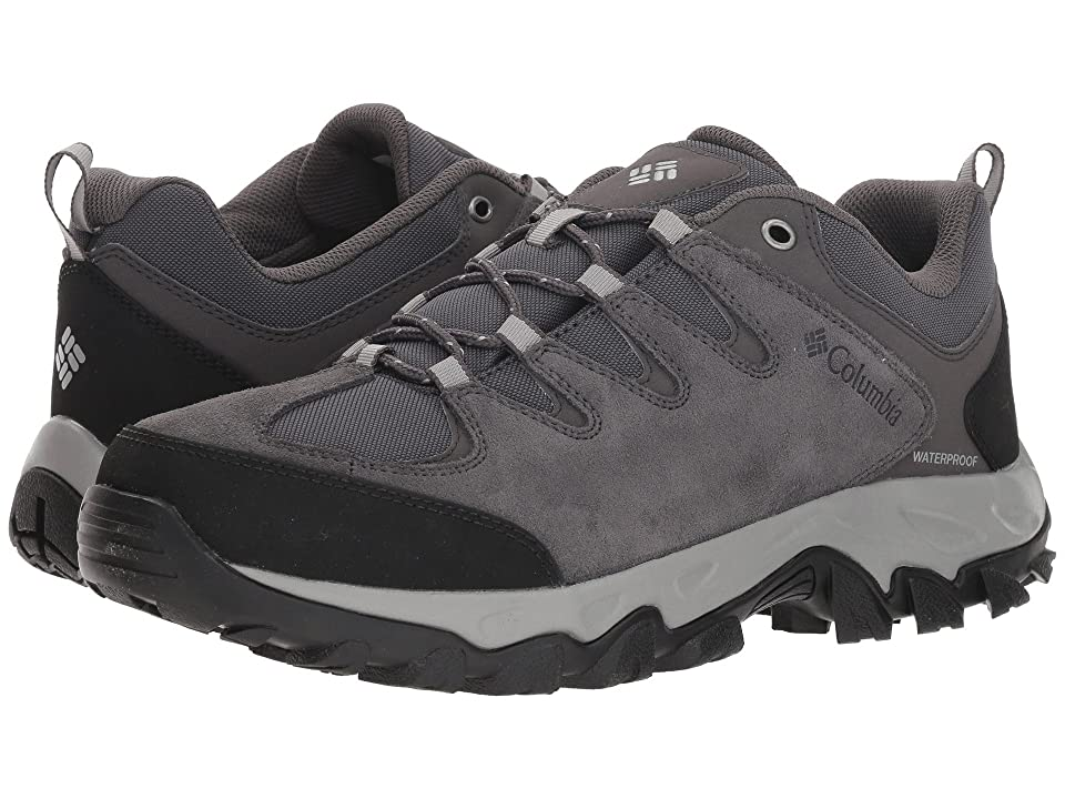 Columbia Buxton Peaktm Waterproof (Dark Grey/Lux) Men
