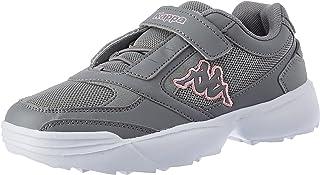 Kappa Unisex Krypton K Sneaker, Grey/Rosé, 1 UK