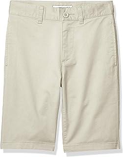 Amazon Essentials – Pantalón corto para niño, Caqui Claro, 7(S)