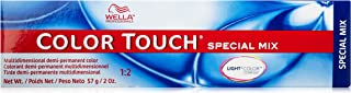 Wella Touch Special Mix Multidimensional Demi-Permanent Hair Color, 0/34 Gold Red, 2 Ounce