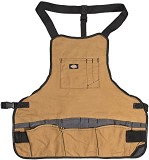 Dickies 16-Pocket Workshop Bib Apron, Durable Canvas Construction, Reinforced Edges,..