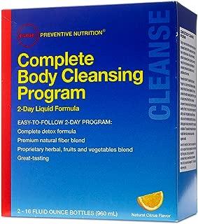 GNC Preventive Nutrition Complete Body Cleansing Progrm 2 16 Fluid Ounce Bttls