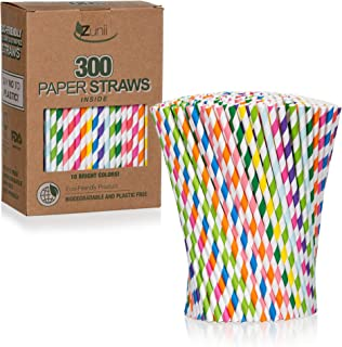 wrapped paper straws