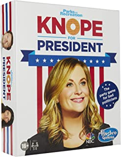 Knope for President Party Card Game, for Parks and Recreation Fans, with Themes and Characters from The Hit TV Show, Game for Ages 16 and Up