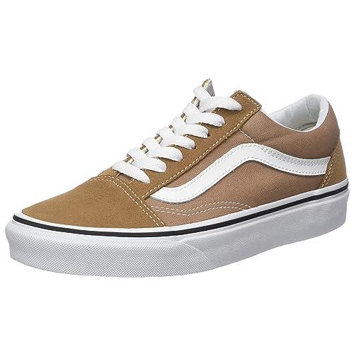 31bd22eae48995 Vans Unisex Adults  Old Skool Classic Suede Canvas Sneakers Black