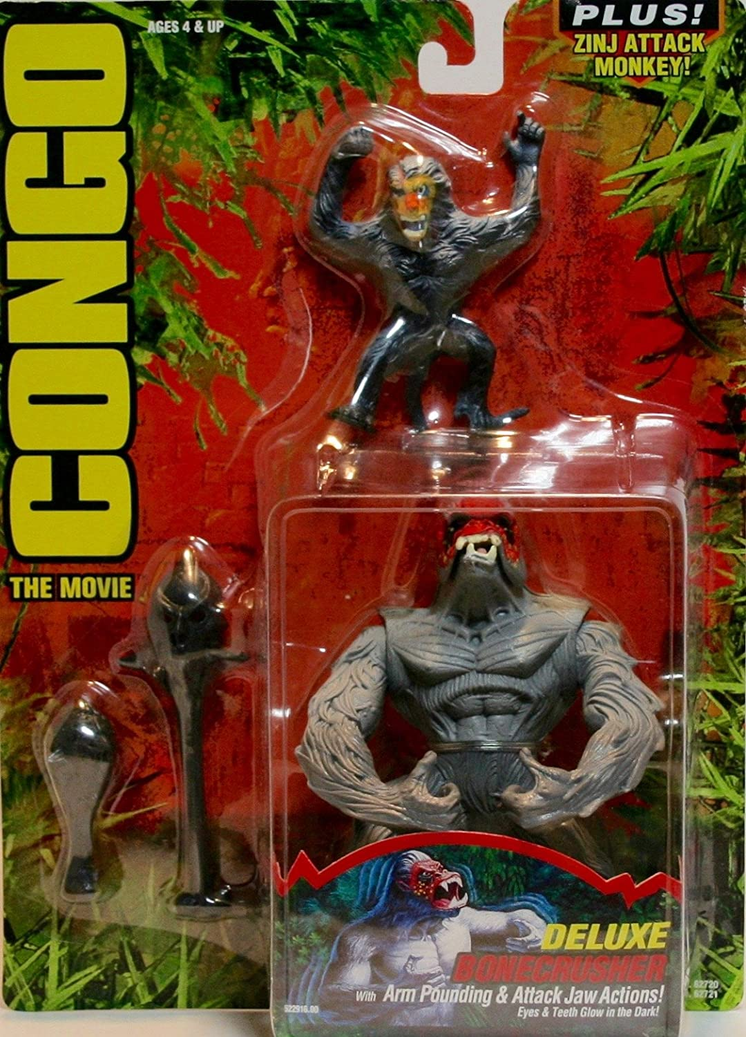 Congo the Movie Deluxe Bonecrusher Figure by