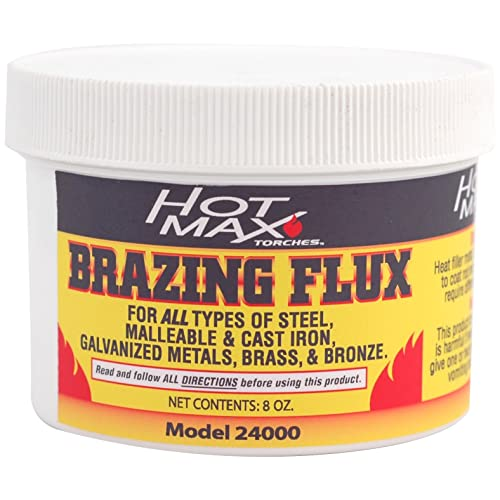 Hot Max 24000 Brazing Flux Powder, 8-Ounce
