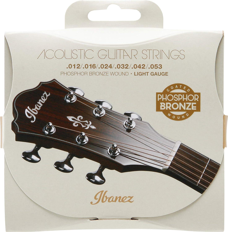Ibanez iacsp6C de guitarra acústica de cuerdas, Western de guitarra de cuerdas   Coated   nuevo