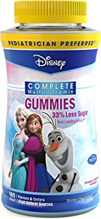 Disney Frozen Complete Multi-Vitamin Gummies, 180 Count